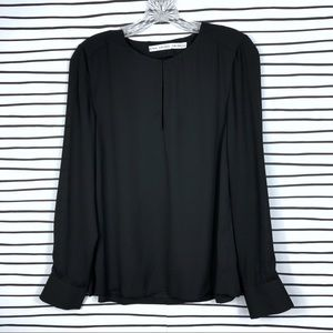 & Other Stories Keyhole Blouse